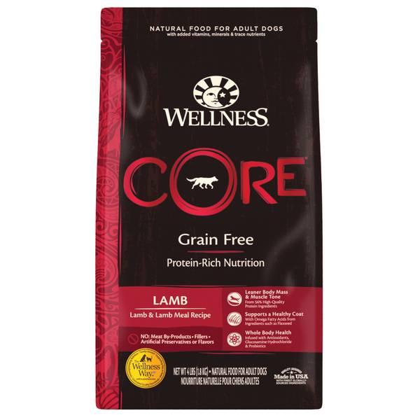 4 lb Core Lamb Dog Food