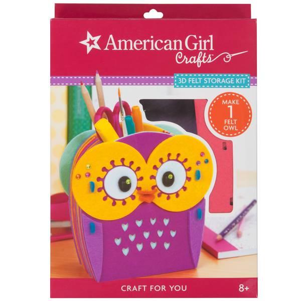 Owl Felt Storage Kit
