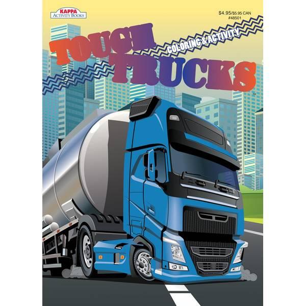 Tough Trucks Coloring Books Assortment