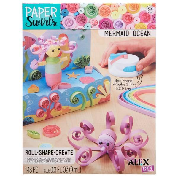 Paper Swirls Mermaid Ocean Pack