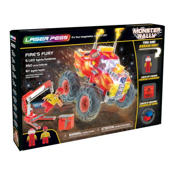 Fire's Fury Monster Rally Truck