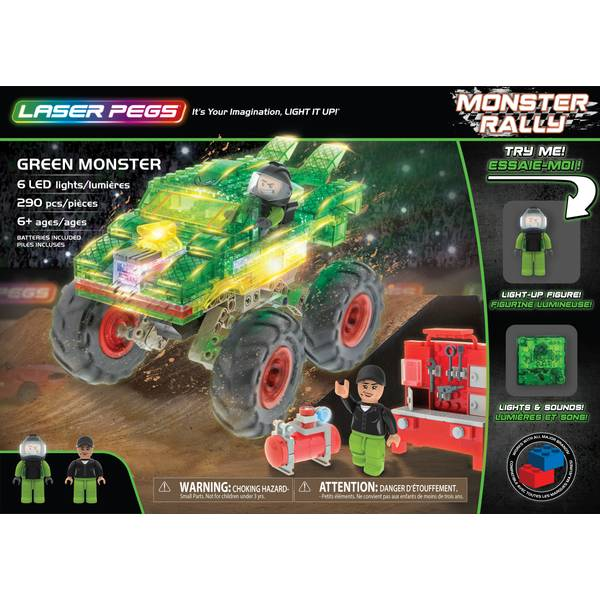 Green Monster Rally Truck