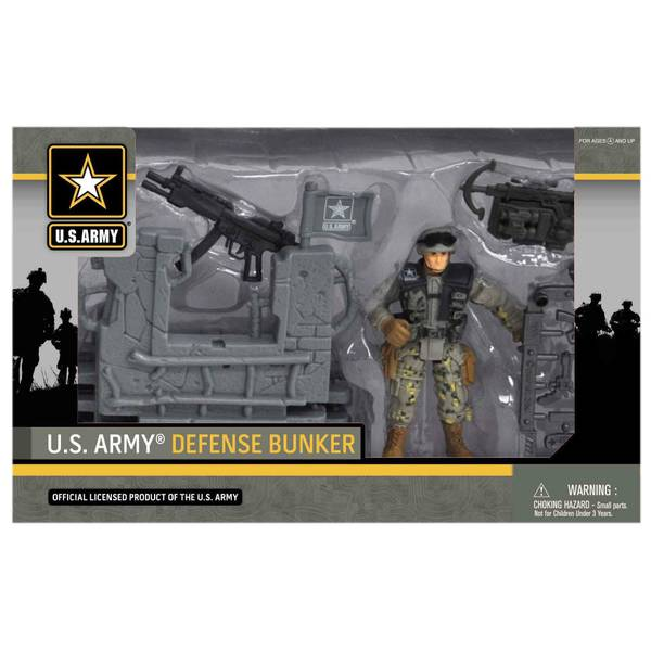 U.S. Army Defense Bunker Playset