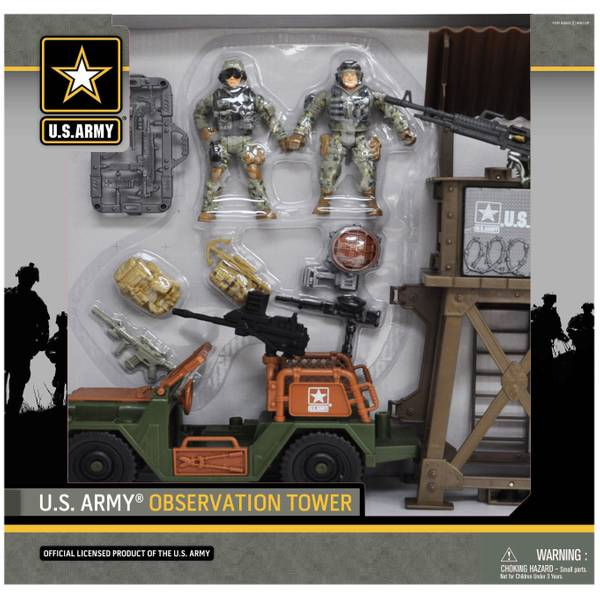 U.S. Army Observation Tower Playset