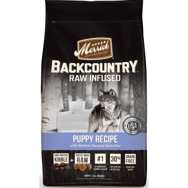 4lb Backcountry Puppy Recipe Dog Food