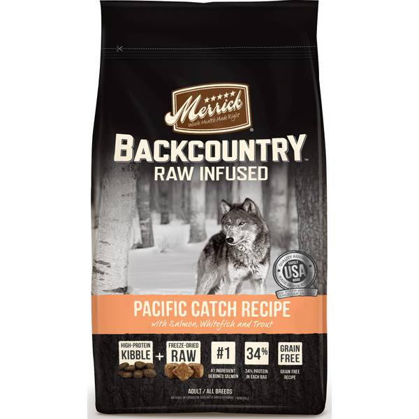 22lb Backcountry Pacific Catch Recipe Dog Food