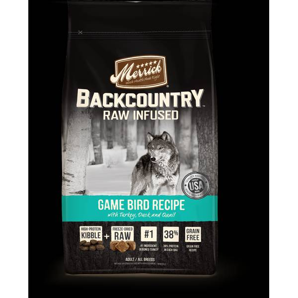 22lb Backcountry Game Bird Recipe Dog Food