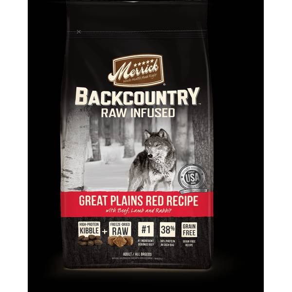 22lb Backcountry Great Plains Red Meat Dog Food