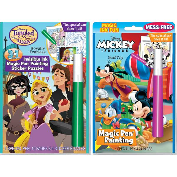Mickey and Friends Magic Pen Book