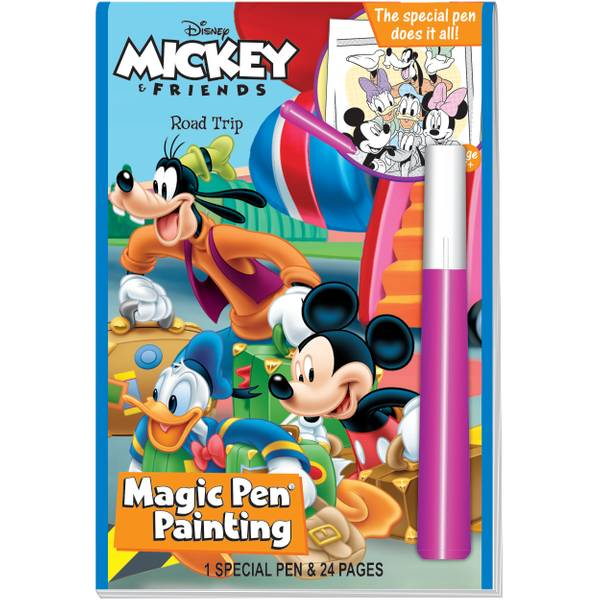 Mickey & Friends Road Trip Magic Pen Book