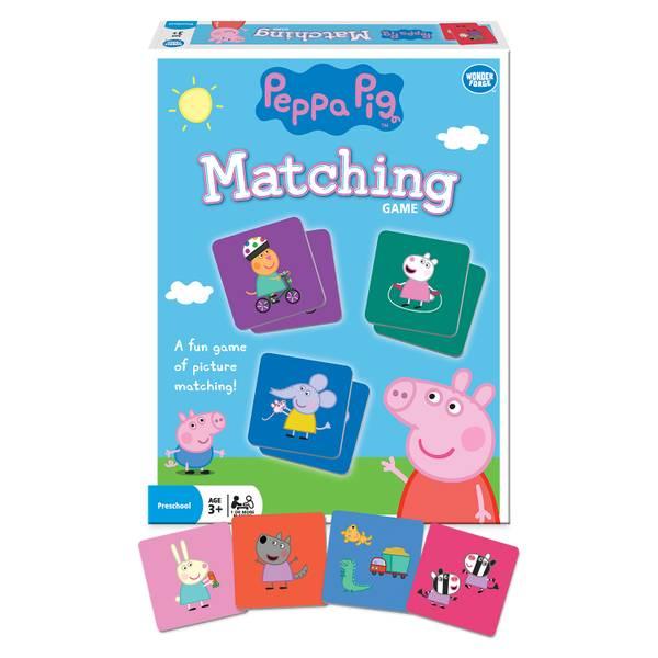 Peppa Pig Matching Game