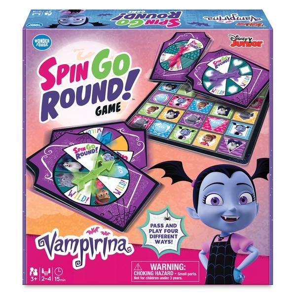 Vampirina Spin Go Round Game
