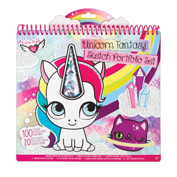 Unicorn Fantasy Shaker Portfolio Book
