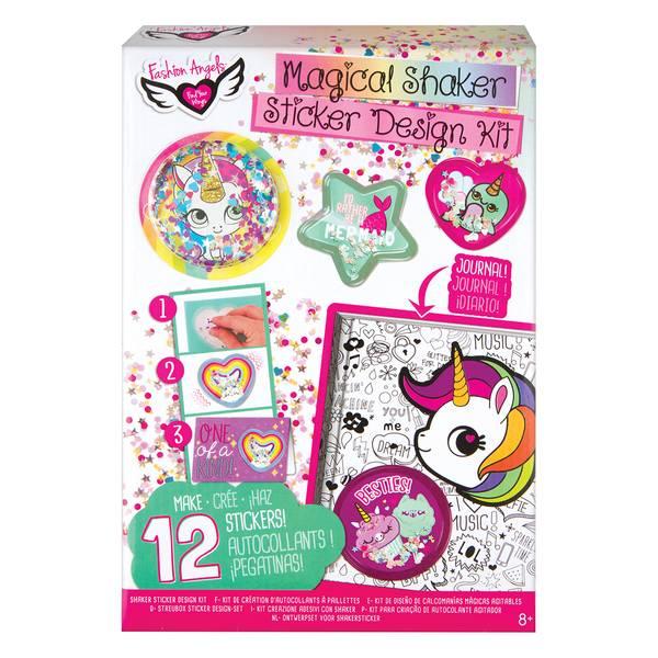 Sequin Shaker Sticker Design Kit