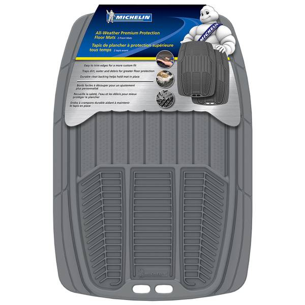 2-Piece All-Weather Floor Mat Sets