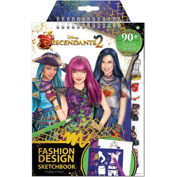 Descendants 2 Sketchbook