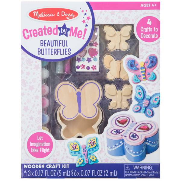 Wooden Butterfly Craft Kit