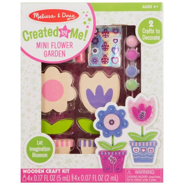 Wooden Flower Craft Kit
