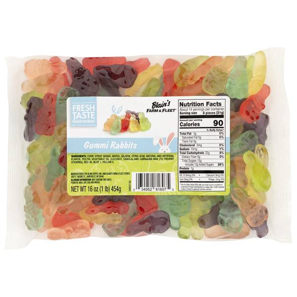 Gummi Rabbit Candy