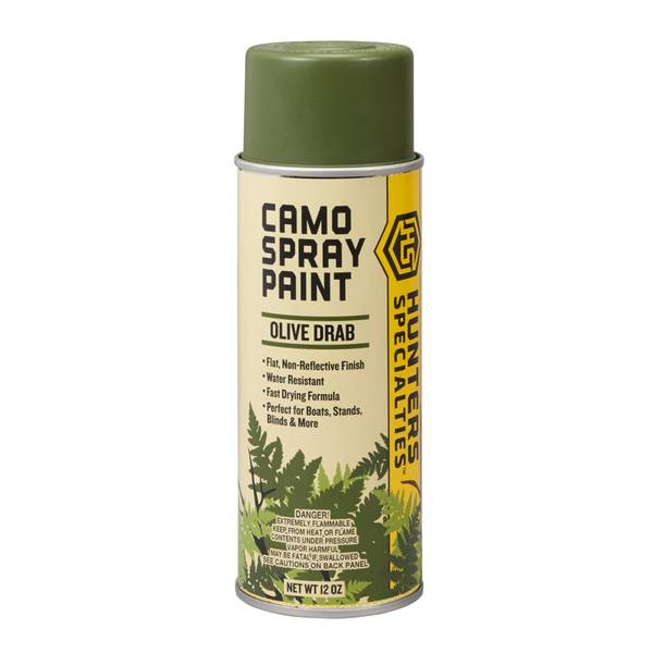 hunter 39 s specialties permanent camo spray paint
