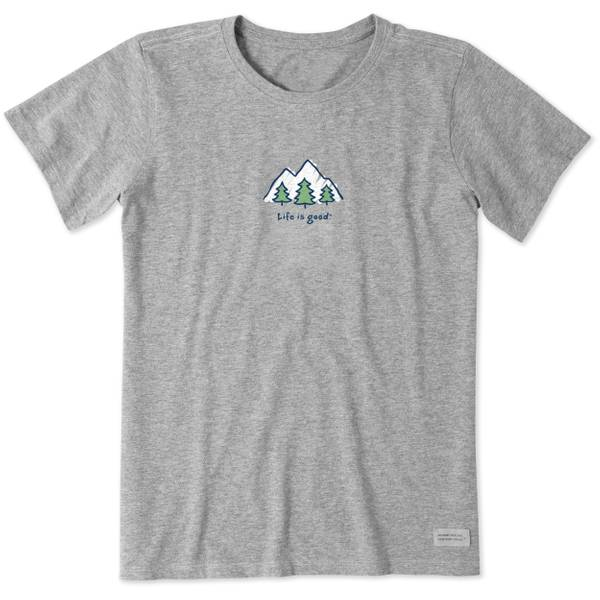 Misses' Short Sleeve Mountains Crusher Tee