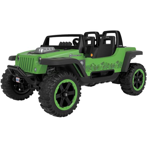 power wheels jeep hurricane extreme ride-on