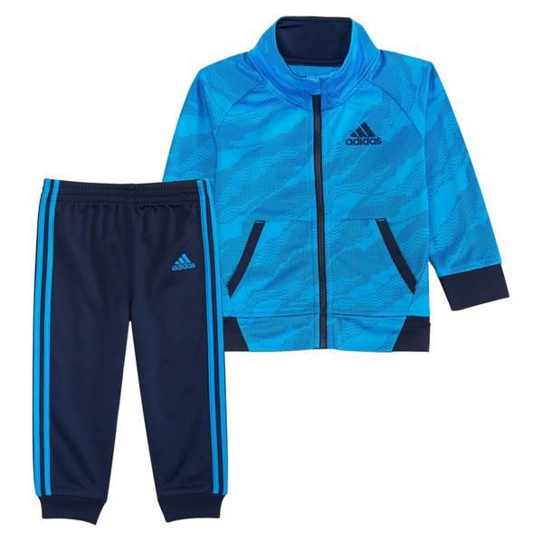 213905a8a Adidas Toddler Boy's Camo Tricot Set Blue