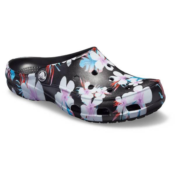 c5f35f357a1ab Crocs Women's Floral Freesail Graphic Clogs