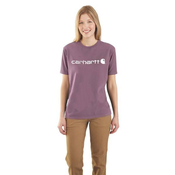 9ae74ef458 Carhartt Misses' Short Sleeve Workwear Logo Tee