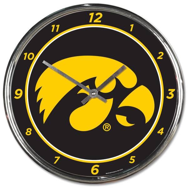 Iowa Chrome Clock