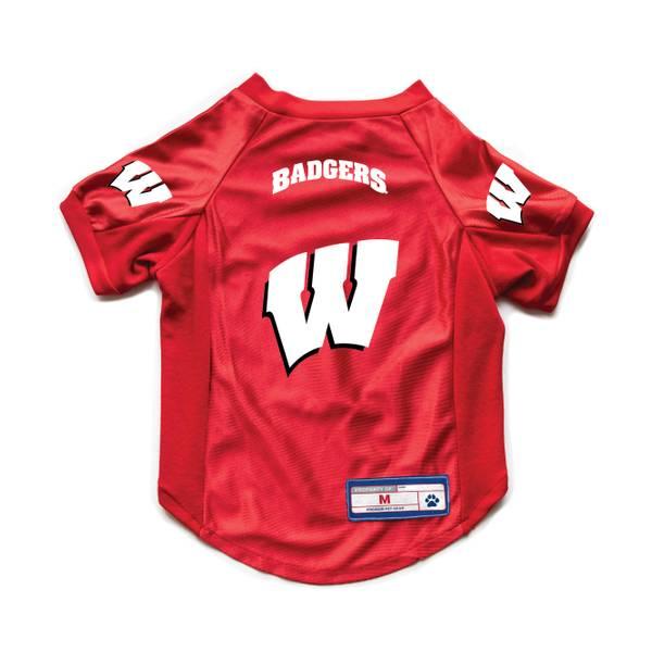Wisconsin Badgers Medium Pet Jersey