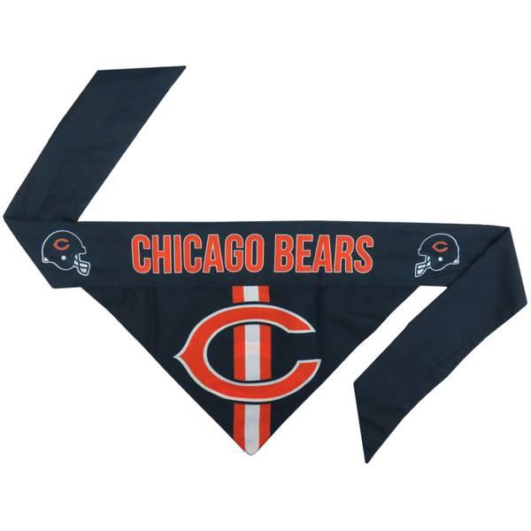 Chicago Bears Pet Bandana Small