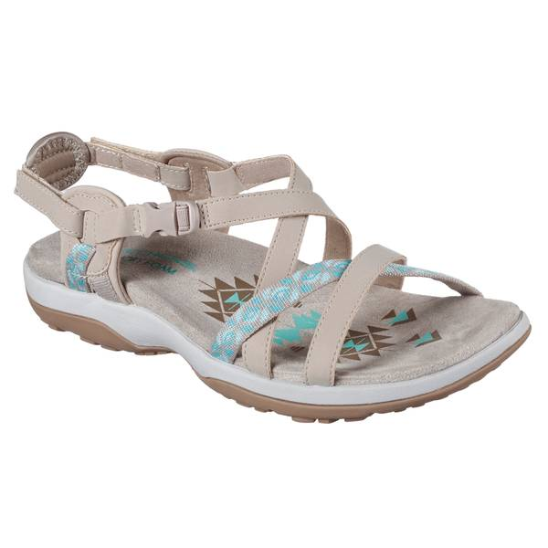 10ce9f651057 Skechers Women s Reggae Slim Strap Sandals