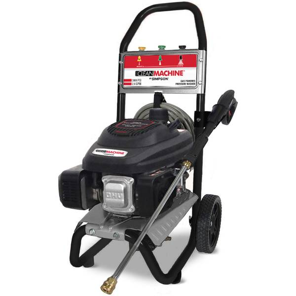 3000 PSI Clean Machine Pressure Washer