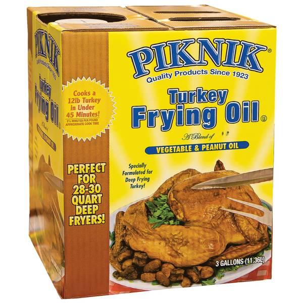 3 Gallon Peanut Oil Blend