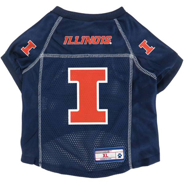 University of Illinois Fighting Illini Medium Pet Jersey