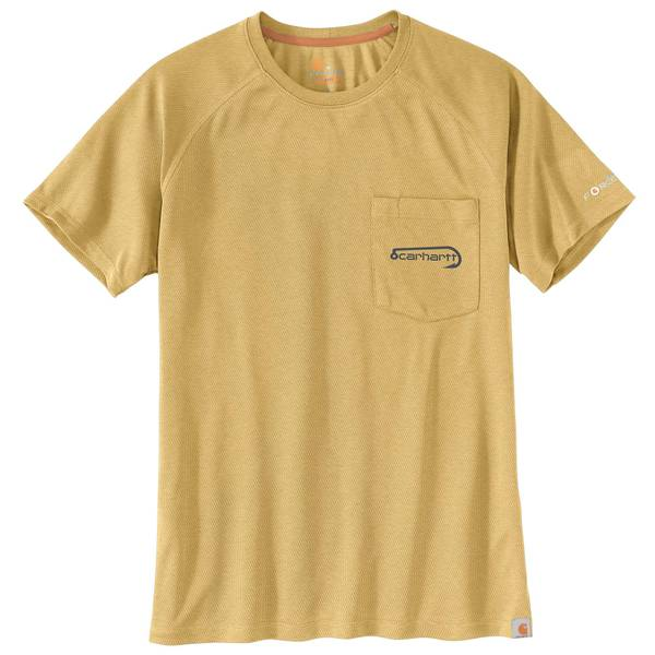 3d9eae3d Carhartt Men's Force Fishing Graphic Short Sleeve T-Shirt