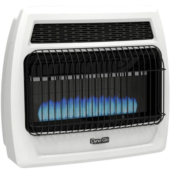 30K BTU LP Blue Flame Vent Free Heater with T-Stat