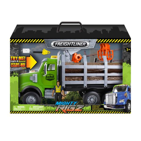 Mighty Rigz Freightliner Log Truck