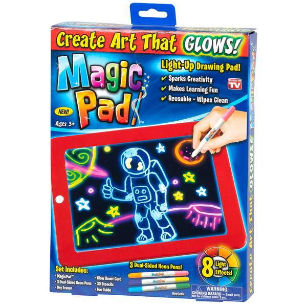 Magic Art Pad That Glows