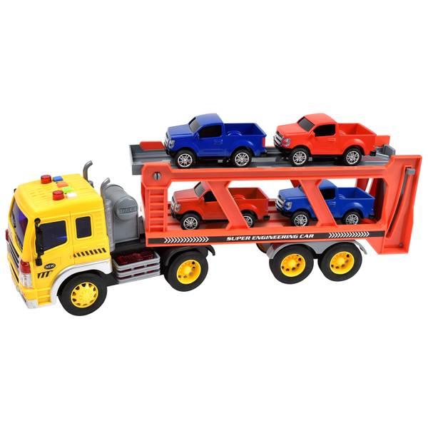 1:16 Long Haul Vehicle Transport Playset