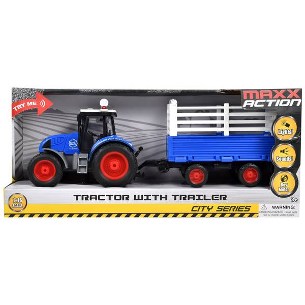 1:16 Tractor with Trailer