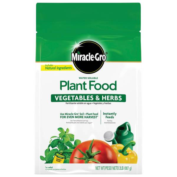 Miracle-Gro 2 lb Vegetable and Herbs Plant Food