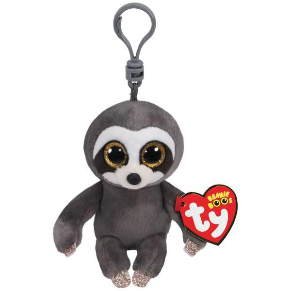 Beanie Boos Clip Dangler-Sloth