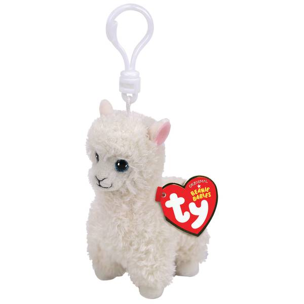 Beanie Baby Clip Lily-Llama