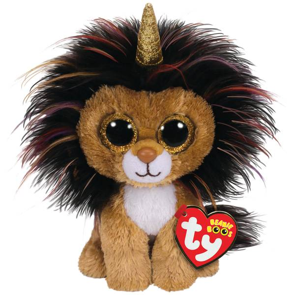 Beanie Boo Ramsey-Lion with Horn