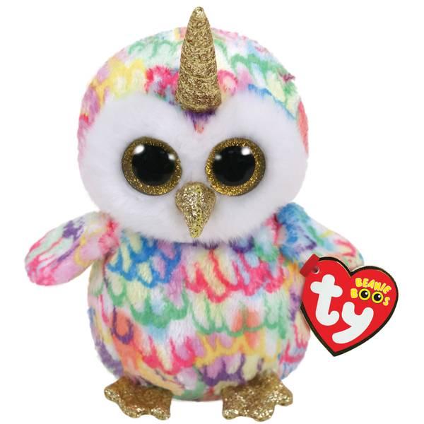 Beanie Boo Enchanted-Owl with Horn