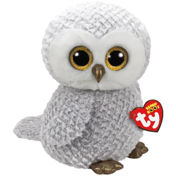 Beanie Boo Large Owlette - Gray Owl