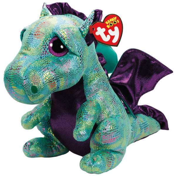Ty Beanie Boo Large Cinder - Green Dragon 77b9e3454d0