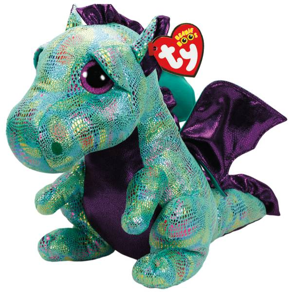 Beanie Boo Large Cinder - Green Dragon